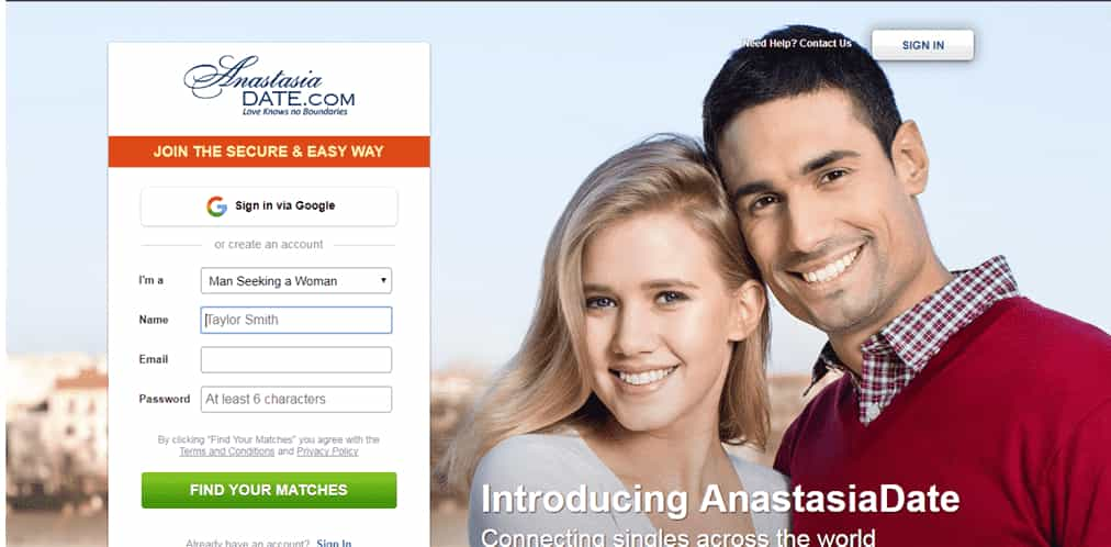 AnastasiaDate review
