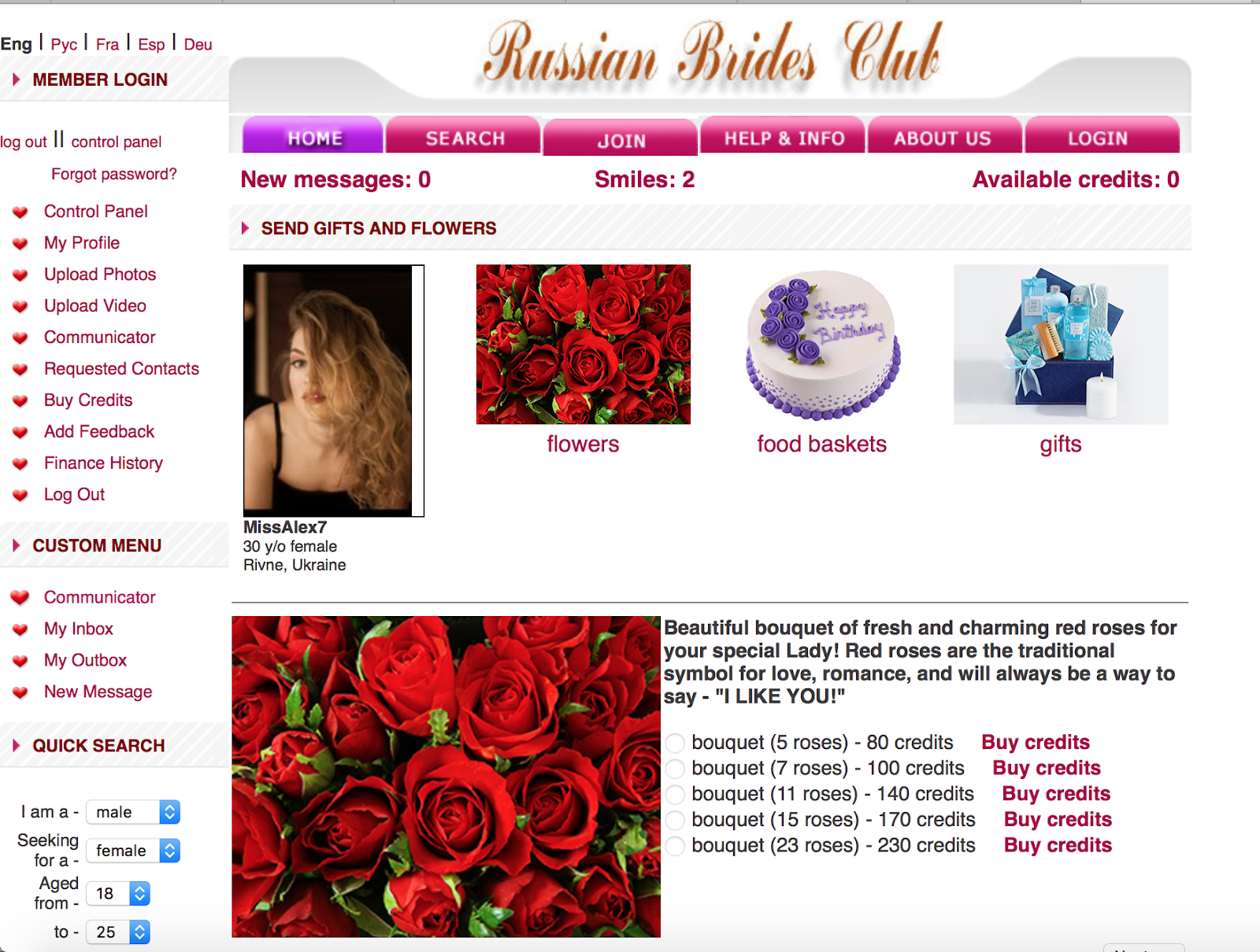 Russian Brides Club Review